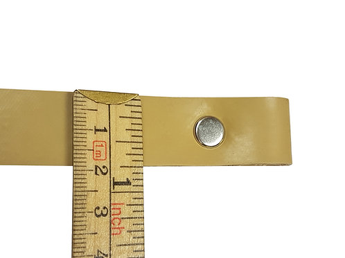 "3/4"" Beige Replacement Dowel Strap Sizes 10"" - 16"""
