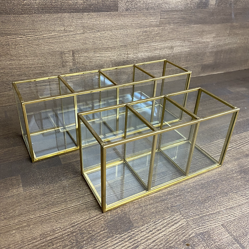 Brass  Square Stand