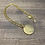 Thumbnail: YSL ROUND NECKLACE