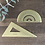 Thumbnail: Brass Protractor