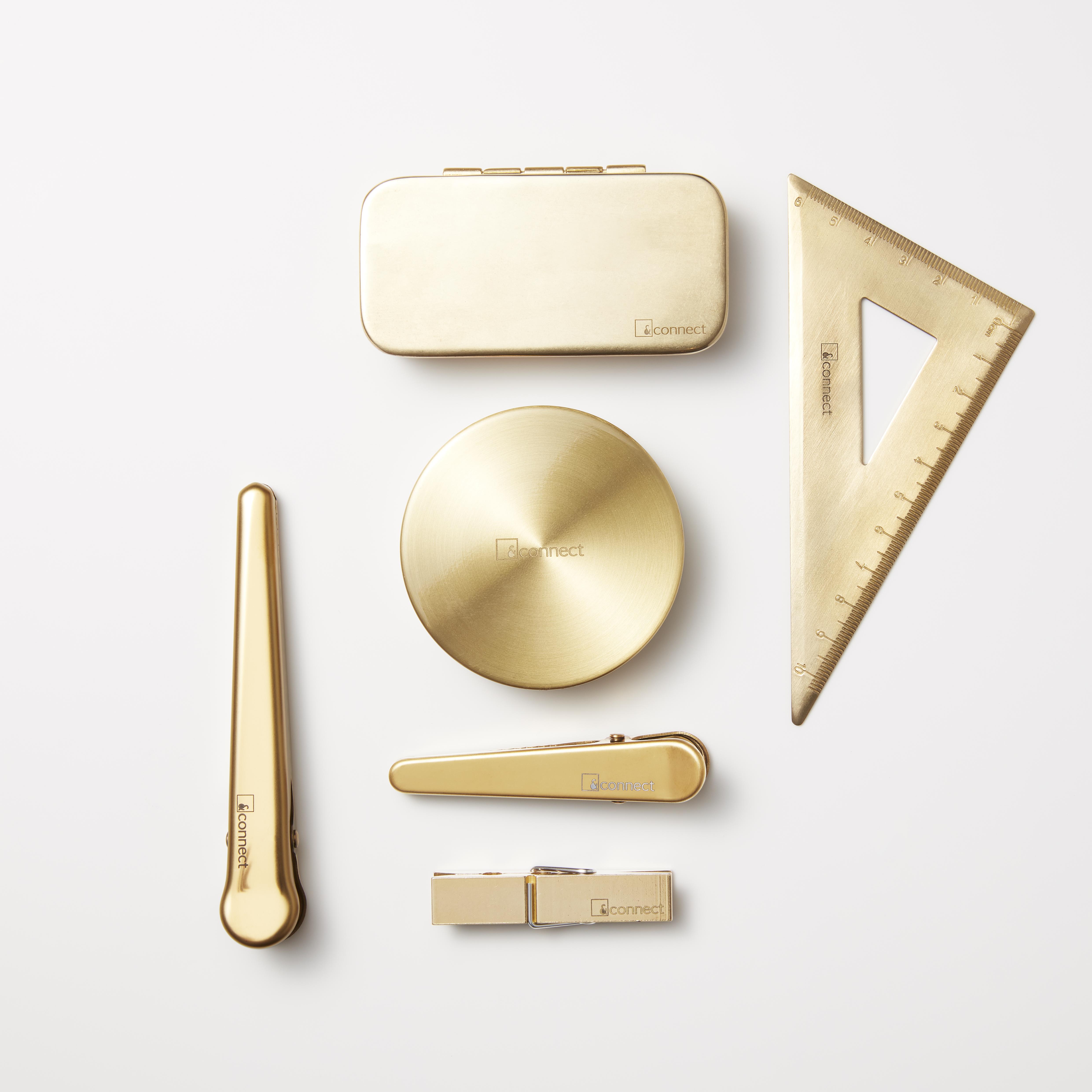 &connectオリジナル真鍮アイテム