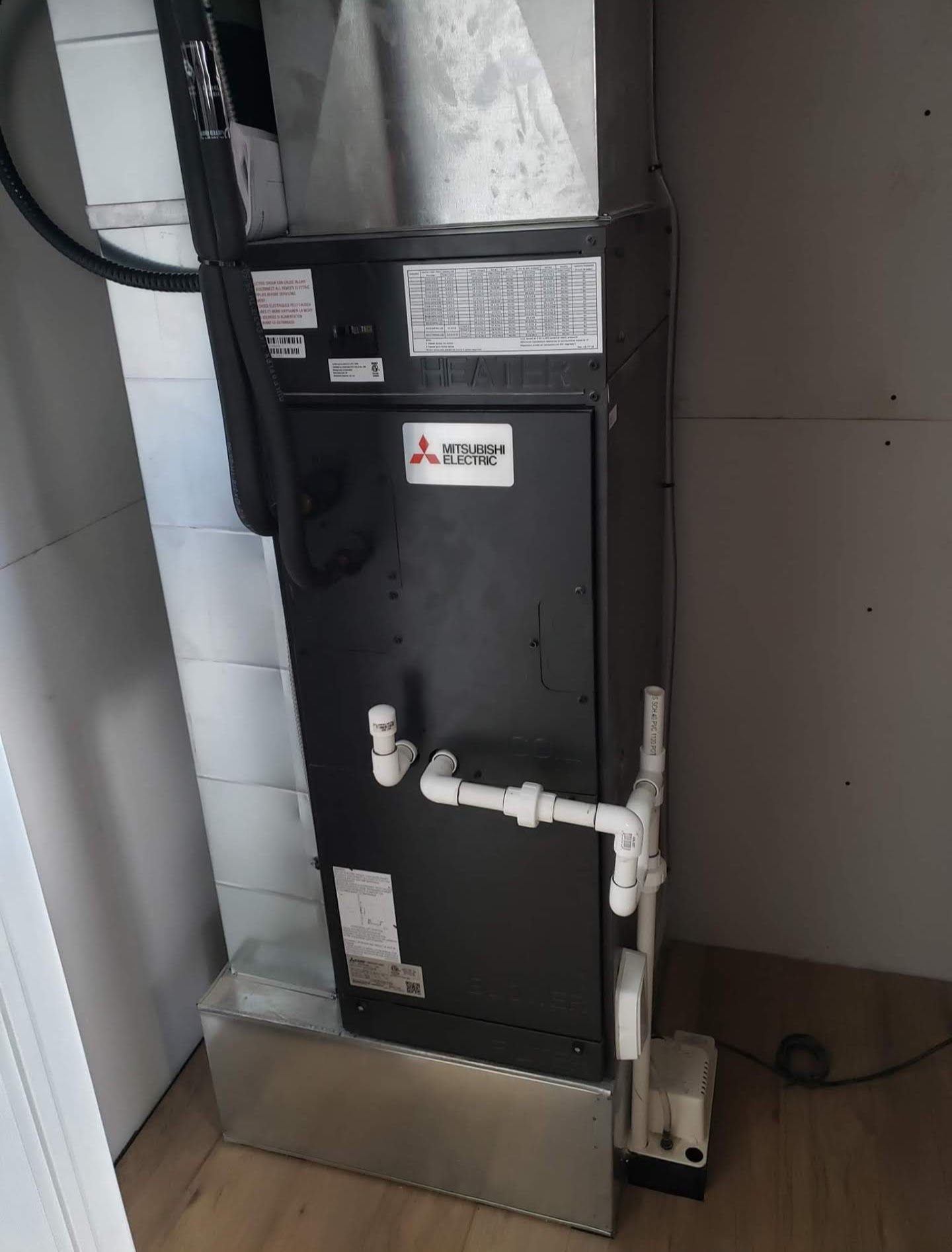 New Heatpump Installation in Burlington