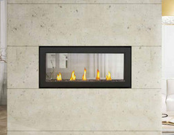See though Fireplace