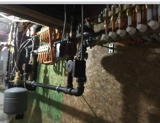 Hydronic heating project in Hamilton