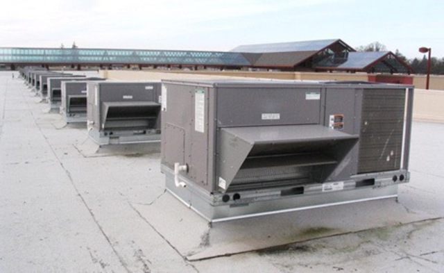 Rooftop Unit installation