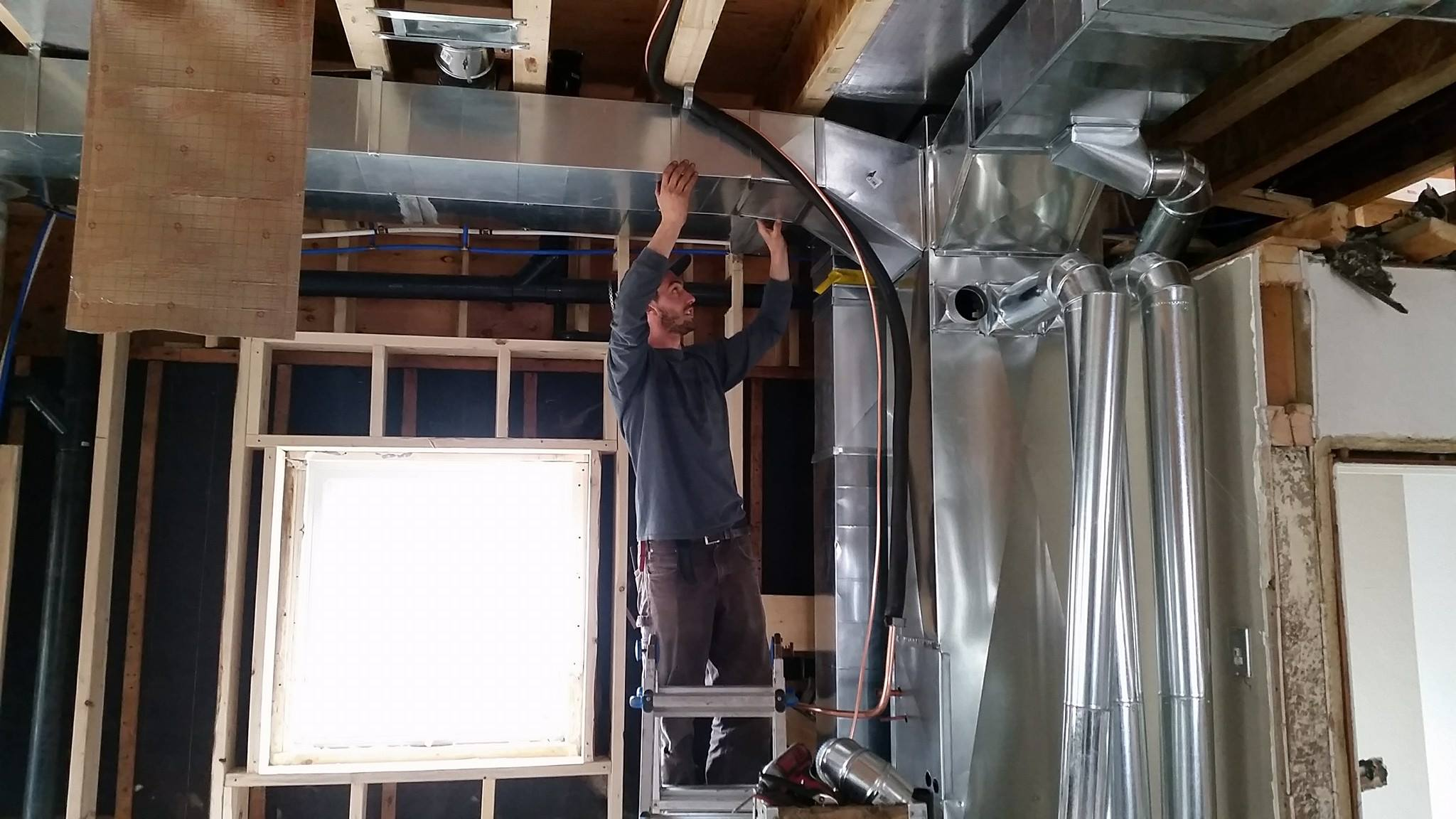 Custom Hvac work.
