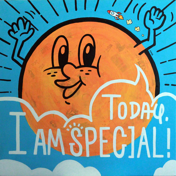Today, I am special!