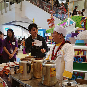 MC Host for a function about promoting Hong Kong Culture in Wong Tai Sin