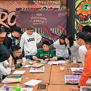 VANS Art Workshop