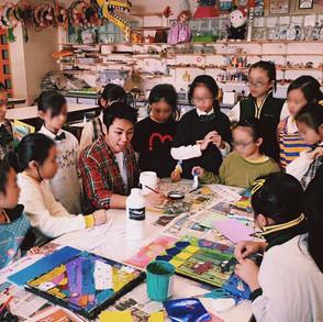 Primary School's Art Workshop