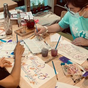 Floral Lettering Workshops