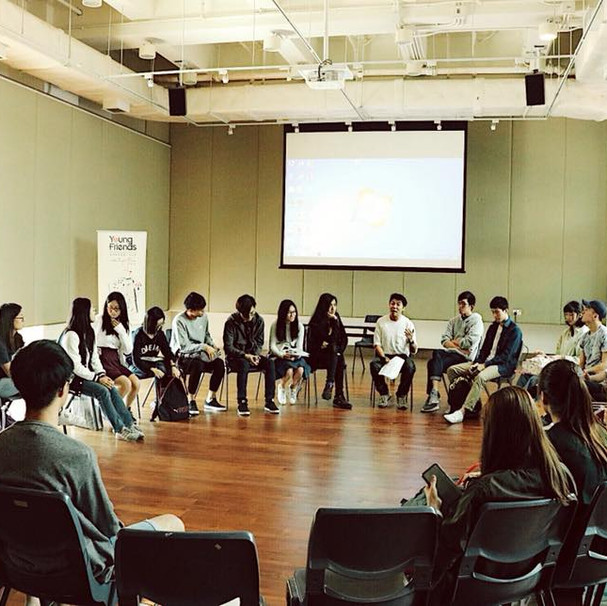 Creative Arts Workshop with BA Students in Lingnan University