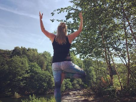Yoga en mens zijn.
