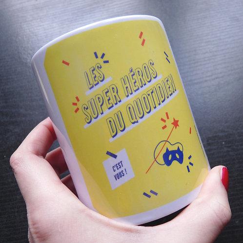 MUG Les Super-Héros Du Quotidien