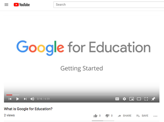 Getting Started with Google for Education: Video Series