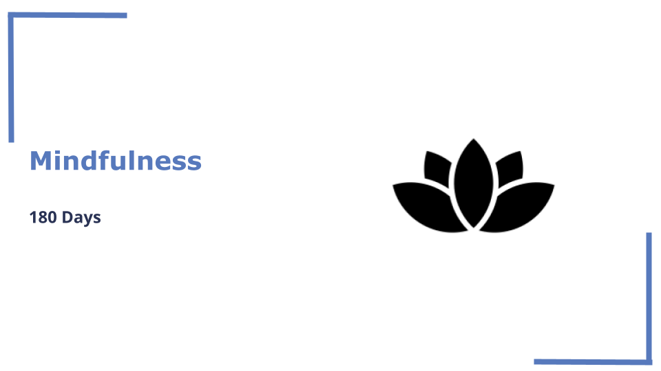 180 Days of Mindfulness