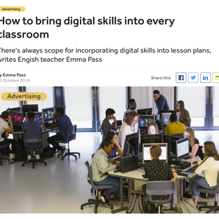 How To Bring Digital Skills into Every Classroom