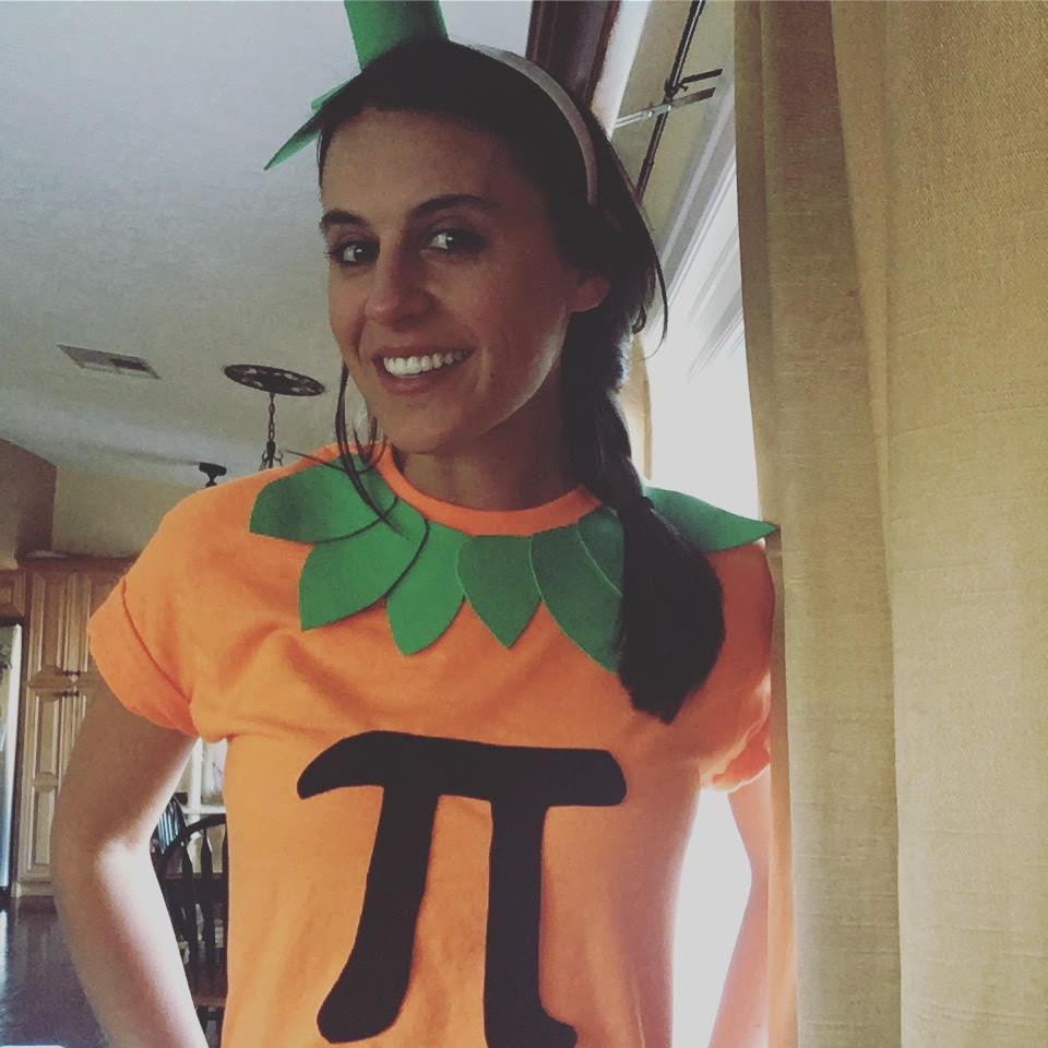 My Pumpkin Pi Costume