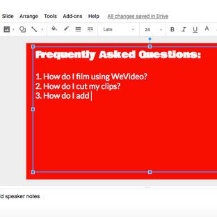 """Even better than """"Ask 3 Before Me,"""" Google Slides FAQ Decks!"""