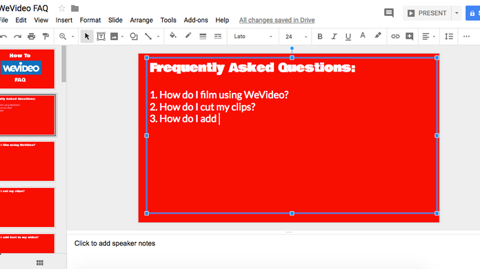 "Even better than ""Ask 3 Before Me,"" Google Slides FAQ Decks!"