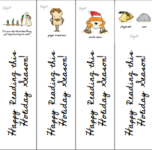 Holiday Bookmarks!