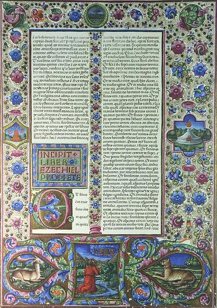 """Bible of Borso D""""Este"""