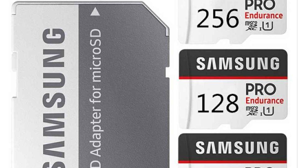 Samsung Micro Sd Card Pro Endurance