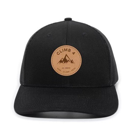 Circle Logo Leather Patch Hat