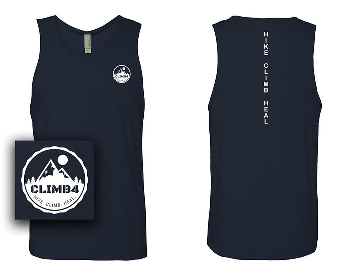 Men's Dark Navy Tank