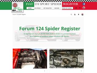 Nieuw: Forum op website