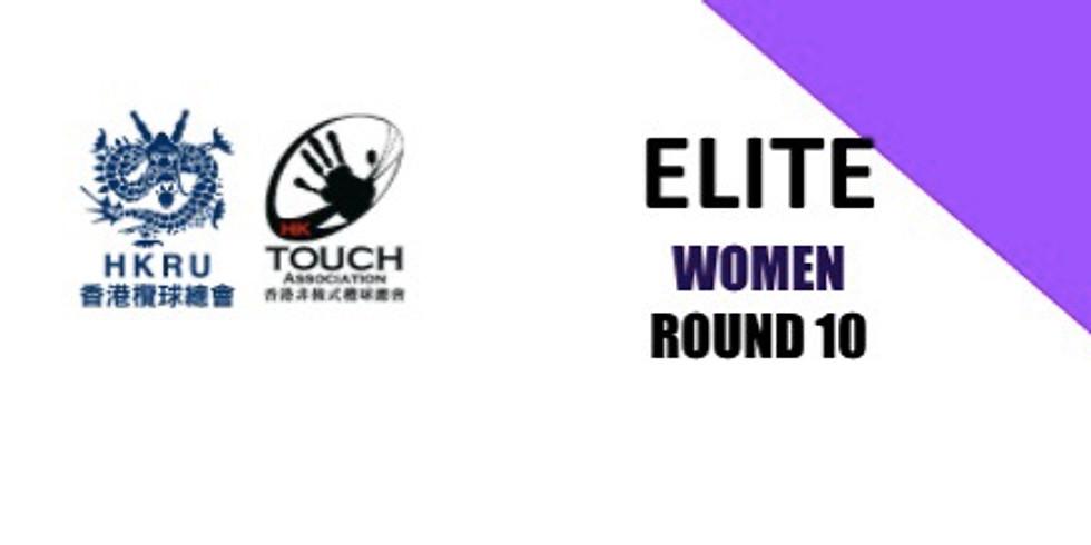 ELITE Women - RND10 - 1800 Game
