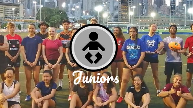 T8 Touch Football Club Hong Kong Juniors