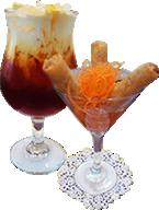 Thai Iced Tea and Spring Roll