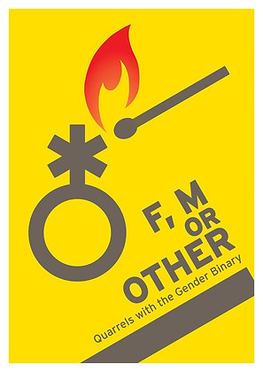 Art Print: F, M or Other - A3