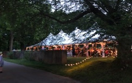 tented event at Hagley