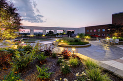 Long Term Acute Care Rooftop Garden