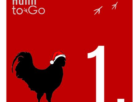 Der Huhn-to-Go-Kalender