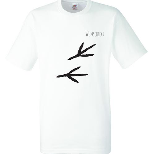 T-Shirt mit individuellem Text