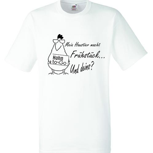 "T-Shirt ""Mein Haustier macht Frühstück"""