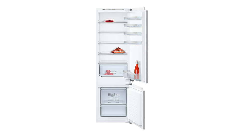 NEFF - N50 INTEGRATED FRIDGE FREEZER