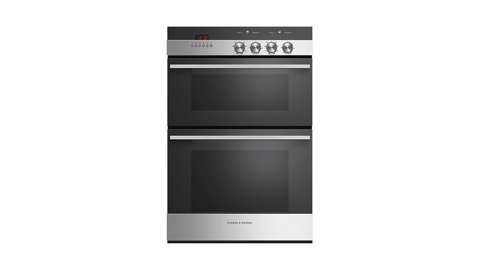 FISHER & PAYKEL - DOUBLE OVEN  7 FUNCTION
