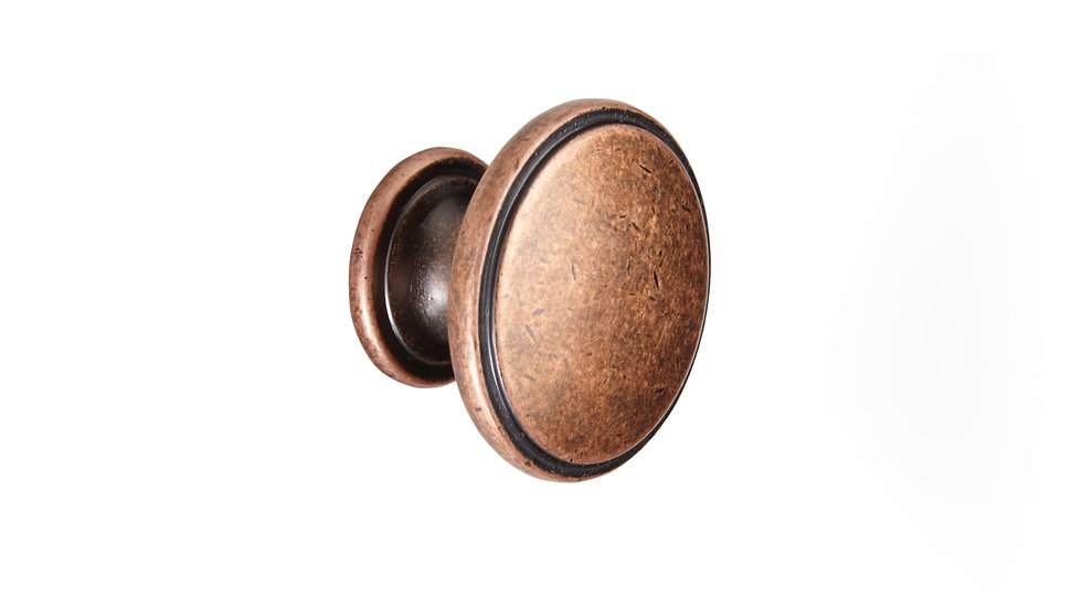 TRADITIONAL ANTIQUE COPPER KNOB