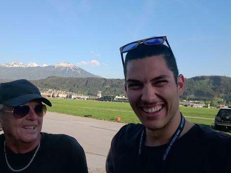 Erster Soloflug Amir Kaufmann