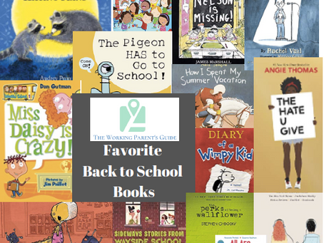 Favorite Books about Going Back to School