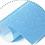 termovinile scintillante azzurro
