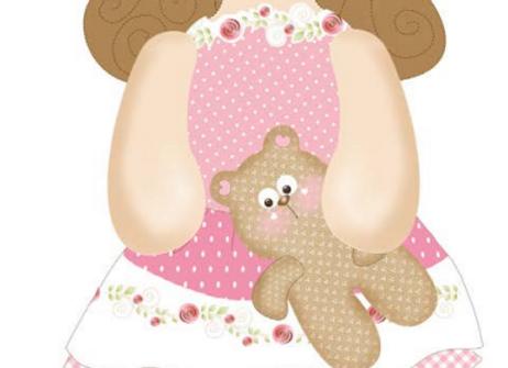 bambola e orsetto