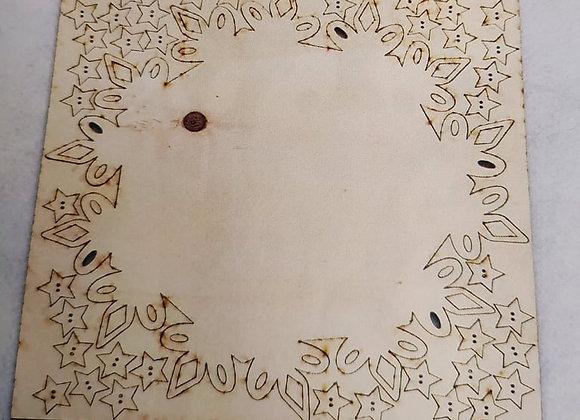 base legno calendario avvento