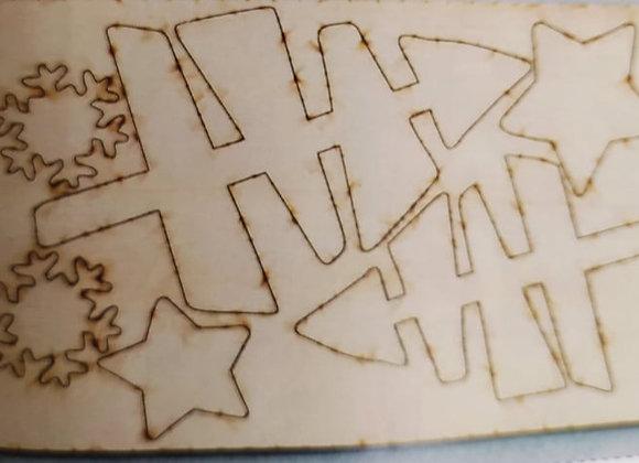 kit legno gnomo