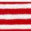 tubolare mini righe rosso-bianco