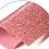 termovinile glitter rosa antico